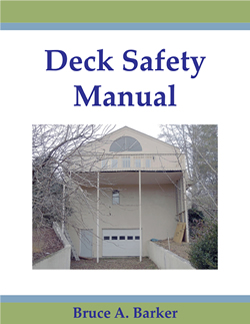 Deck Safety Manual |  Book Price $19.95